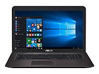 ASUS X756UQ-TY193T i5-7200U 43,9cm 17,3Zoll Glare 8GB DDR4 1.000GB HDD SATA NVidia 940MX Win10 DVDRW DL DarkBrown 2J PUR - Produktdetailbild 1
