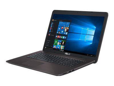 ASUS X756UQ-TY193T i5-7200U 43,9cm 17,3Zoll Glare 8GB DDR4 1.000GB HDD SATA NVidia 940MX Win10 DVDRW DL DarkBrown 2J PUR