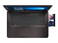 ASUS X756UQ-TY193T i5-7200U 43,9cm 17,3Zoll Glare 8GB DDR4 1.000GB HDD SATA NVidia 940MX Win10 DVDRW DL DarkBrown 2J PUR - Produktdetailbild 2