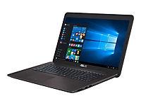 ASUS X756UX-T4336T i5-7200U 43,9cm 17,3Zoll Non-Glare 12GB DDR4 128GB SSD+1TB HDD SATA NVidia GTX950M Win10 DVDRW  GrayMetal 2J PUR - Produktdetailbild 2