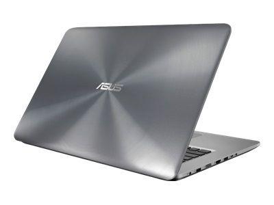 ASUS X756UX-T4336T ICi5-7200U 43,9cm 17,3Zoll Non-Glare 12GB DDR4 128GB SSD+1TB HDD SATA NVidiaGTX950M Win10 DVDRW GrayMetal 2J PUR