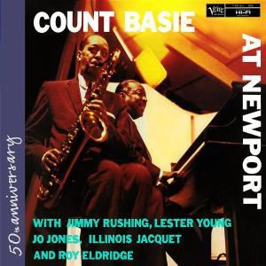At Newport, Count Basie