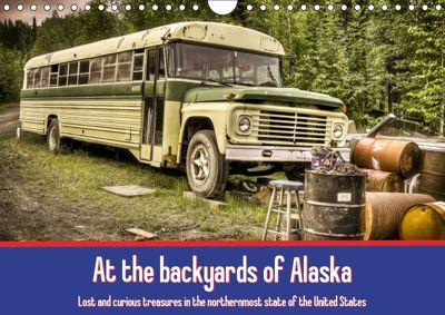 At the backyards of Alaska / UK-Version (Wall Calendar 2019 DIN A4 Landscape), Marcel Wenk