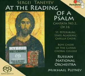 At The Reading Of A Psalm, M. Pletnev, Rno
