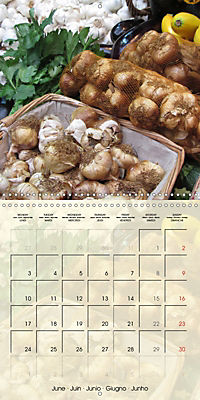 At the weekly market (Wall Calendar 2019 300 × 300 mm Square) - Produktdetailbild 6