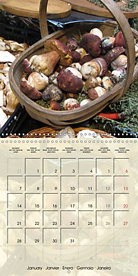 At the weekly market (Wall Calendar 2019 300 × 300 mm Square) - Produktdetailbild 1