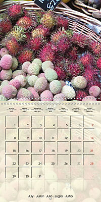 At the weekly market (Wall Calendar 2019 300 × 300 mm Square) - Produktdetailbild 7