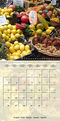 At the weekly market (Wall Calendar 2019 300 × 300 mm Square) - Produktdetailbild 8