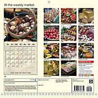 At the weekly market (Wall Calendar 2019 300 × 300 mm Square) - Produktdetailbild 13
