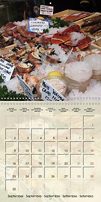 At the weekly market (Wall Calendar 2019 300 × 300 mm Square) - Produktdetailbild 9