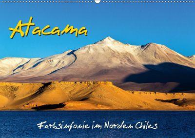 Atacama - Farbsinfonie im Norden Chiles (Wandkalender 2019 DIN A2 quer), Michael Prittwitz
