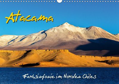 Atacama - Farbsinfonie im Norden Chiles (Wandkalender 2019 DIN A3 quer), Michael Prittwitz