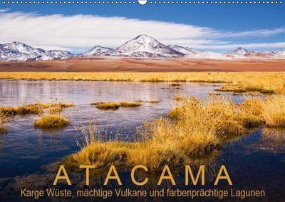 Atacama: Karge Wüste, mächtige Vulkane und farbenprächtige Lagunen (Wandkalender 2019 DIN A2 quer), Gerhard Ast