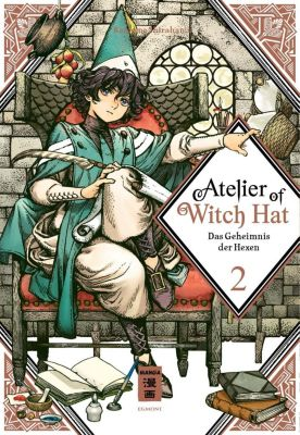 Atelier of Witch Hat - Limited Edition, Kamome Shirahama