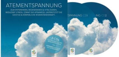 Atementspannung, 2 Audio-CDs + Bonus-MP3s zum Download