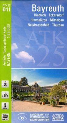 ATK25-D11 Bayreuth (Amtliche Topographische Karte 1:25000), Breitband und Vermessung, Bayern Landesamt für Digitalisierung