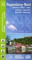 ATK25-I13 Regensburg-Nord (Amtliche Topographische Karte 1:25000), Breitband und Vermessung, Bayern Landesamt für Digitalisierung