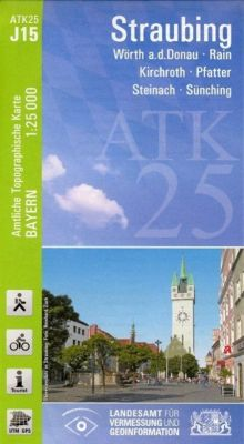 ATK25-J15 Straubing (Amtliche Topographische Karte 1:25000), Breitband und Vermessung, Bayern Landesamt für Digitalisierung