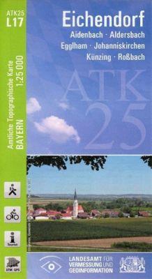 ATK25-L17 Eichendorf (Amtliche Topographische Karte 1:25000), Breitband und Vermessung, Bayern Landesamt für Digitalisierung