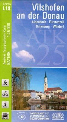 ATK25-L18 Vilshofen an der Donau (Amtliche Topographische Karte 1:25000), Breitband und Vermessung, Bayern Landesamt für Digitalisierung