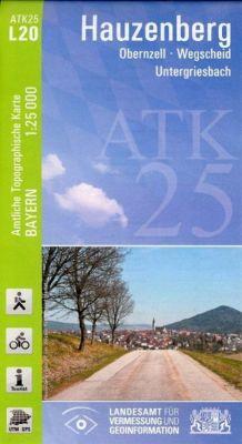 ATK25-L20 Hauzenberg (Amtliche Topographische Karte 1:25000), Breitband und Vermessung, Bayern Landesamt für Digitalisierung