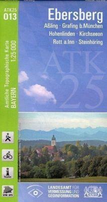 ATK25-O13 Ebersberg (Amtliche Topographische Karte 1:25000), Breitband und Vermessung, Bayern Landesamt für Digitalisierung