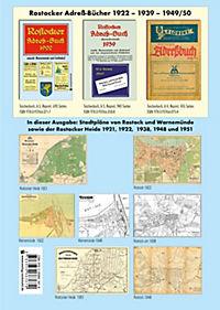 ATLAS - Stadtpläne von ROSTOCK 1922 - 1938 - 1948 - Produktdetailbild 2