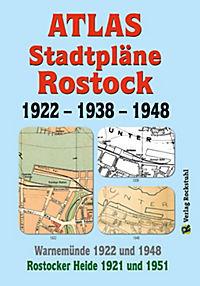 ATLAS - Stadtpläne von ROSTOCK 1922 - 1938 - 1948 - Produktdetailbild 1