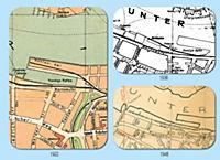 ATLAS - Stadtpläne von ROSTOCK 1922 - 1938 - 1948 - Produktdetailbild 3