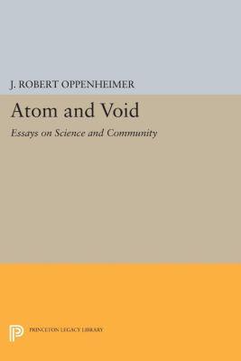 Atom and Void, J. Robert Oppenheimer