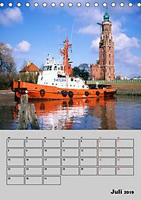 Attraktive Leuchttürme (Tischkalender 2019 DIN A5 hoch) - Produktdetailbild 7