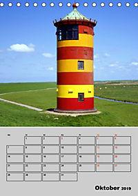 Attraktive Leuchttürme (Tischkalender 2019 DIN A5 hoch) - Produktdetailbild 10