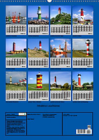 Attraktive Leuchttürme (Wandkalender 2019 DIN A2 hoch) - Produktdetailbild 13