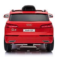 Audi Q5 Kinderauto mit Fernbedienung (Farbe: rot) - Produktdetailbild 2