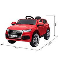 Audi Q5 Kinderauto mit Fernbedienung (Farbe: rot) - Produktdetailbild 3