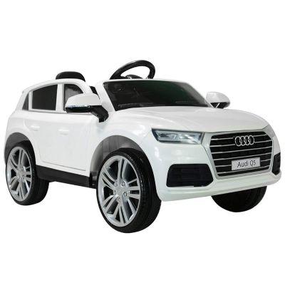 Audi Q5 Kinderauto mit Fernbedienung (Farbe: weiß)