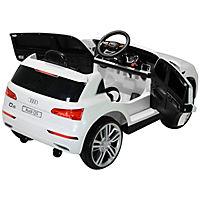 Audi Q5 Kinderauto mit Fernbedienung (Farbe: weiß) - Produktdetailbild 3