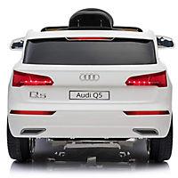 Audi Q5 Kinderauto mit Fernbedienung (Farbe: weiß) - Produktdetailbild 4