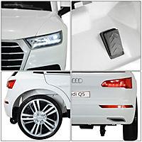 Audi Q5 Kinderauto mit Fernbedienung (Farbe: weiß) - Produktdetailbild 7