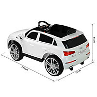 Audi Q5 Kinderauto mit Fernbedienung (Farbe: weiß) - Produktdetailbild 5