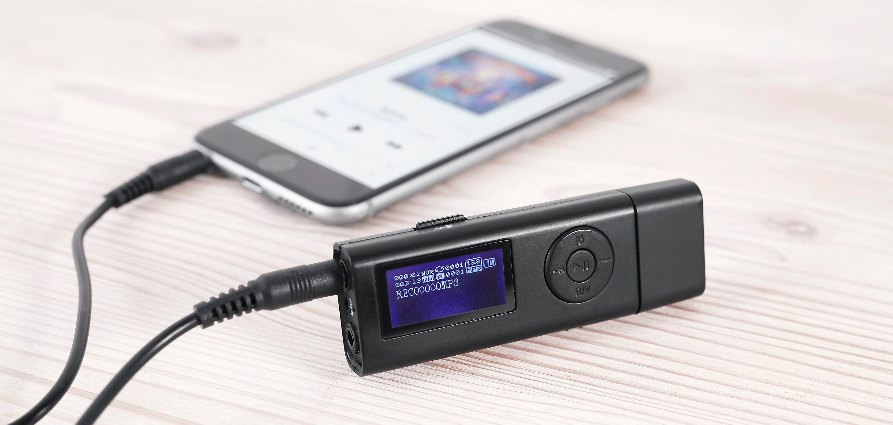 Audio Digitalisierer Mit MP3 Player