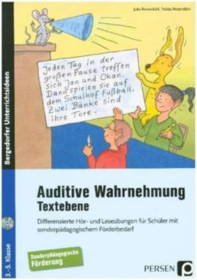 Auditive Wahrnehmung - Textebene, m. Audio-CD, Julia Rosendahl, Tobias Rosendahl
