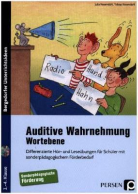 Auditive Wahrnehmung - Wortebene, m. 2 Audio-CDs, Julia Rosendahl, Tobias Rosendahl
