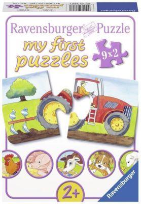 Auf dem Bauernhof. My first Puzzle