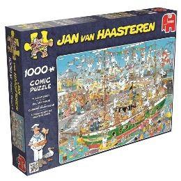 Auf dem Schiff ist nichts im Griff (Puzzle), Jan Van Haasteren