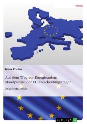 Auf dem Weg zur Energieunion: Standpunkte der EU-Entscheidungsträger, Irina Zorina