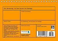 Auf den Spuren von Santiago - Wandern, Staunen, Seele baumeln lassen. (Tischkalender 2019 DIN A5 quer) - Produktdetailbild 13