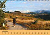 Auf den Spuren von Santiago - Wandern, Staunen, Seele baumeln lassen. (Wandkalender 2019 DIN A2 quer) - Produktdetailbild 1