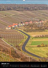 Auf der Weininsel Sommerach und Nordheim (Wandkalender 2019 DIN A2 hoch) - Produktdetailbild 1