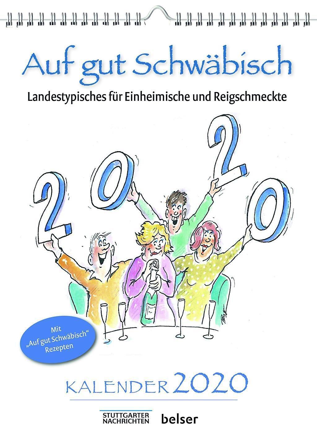 Auf Gut Schwäbisch 2020 Kalender Bei Weltbildde Bestellen